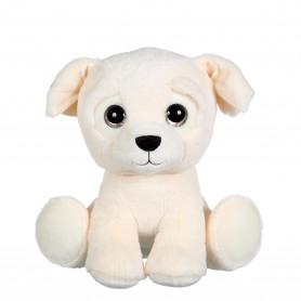 Puppy Eyes Pets Color chien crème - 22 cm