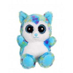 Igloo - Brilloo Friends chien husky bleu 13 cm