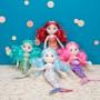 """Sirène """"Coralia"""" - 30 cm - cheveux rouges"""
