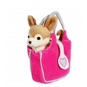 Lovely bag chihuahua  sac fushia 20 cm
