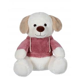 Sweat friends color chien vieux rose - 22 cm