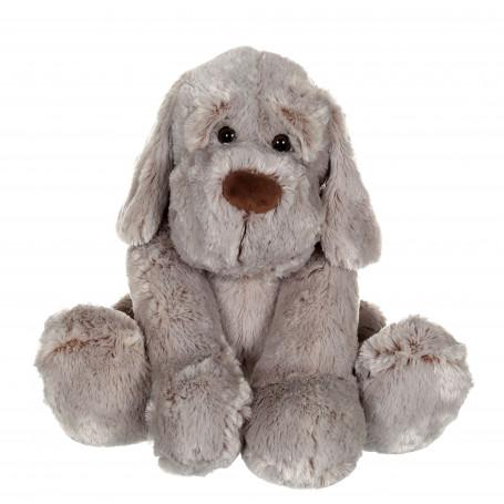 Chien Flatoutou gris - 50 cm