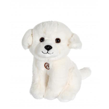 Chien Mimi dogs sonore blanc - 18 cm