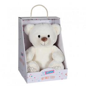 Ours My Sweet Teddy ivoire - 33 cm