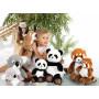 Green Forest panda roux - 32 cm