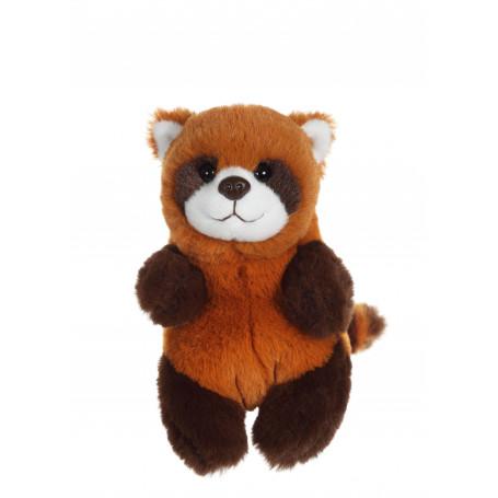 P'tits Farouches panda roux - 15 cm
