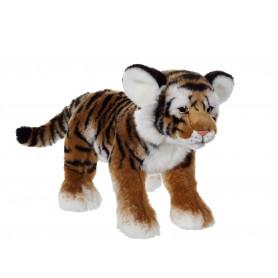 Fauve allongé 30 cm -tigre brun