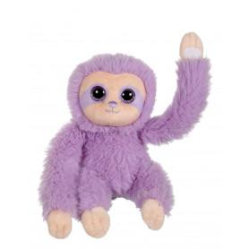 P'tit paresseux violet - 16 cm