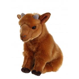 Bébé biquette caramel - 26 cm