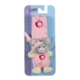 """Protège ceinture """"Pomme"""" souris - 18 cm"""