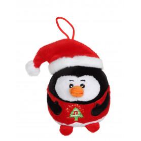 Pingouin - Bouille de Noël sonore 13 cm