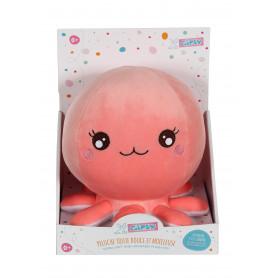 Baby Squishi 22 cm - pieuvre rose