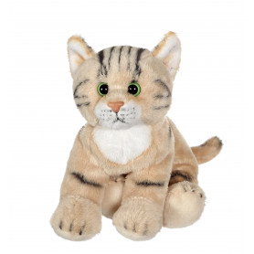 Chat Floppikitty - beige 22 cm