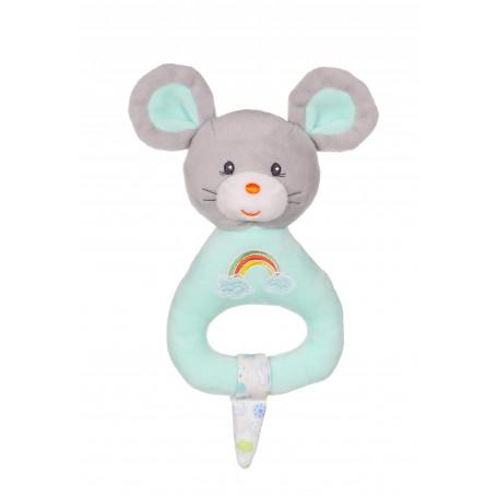 Hochet Rainbow souris - 15 cm