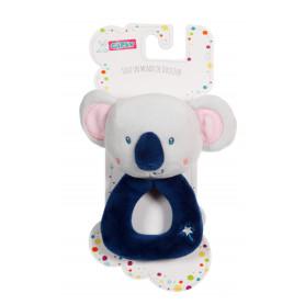 "Hochet ""les ptits féeriques"" koala - 14 cm"