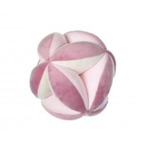 Balle sensorielle rose 12 cm s/carte