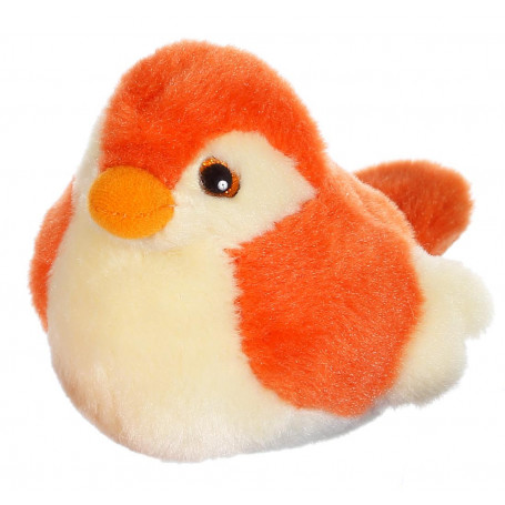 Oiseau sonore birdies 14 cm - orange