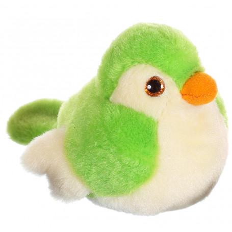 Oiseau sonore birdies 14 cm - vert