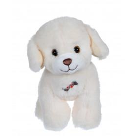 Dogz & kats sonores 18 cm - chien blanc