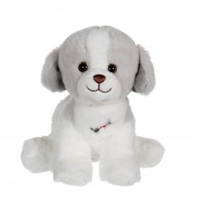 Dogz & kats sonores 18 cm - chien gris