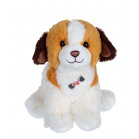 Dogz & kats sonores 18 cm - chien roux et marron