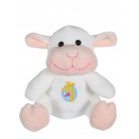 Les copains de Pâques musicaux 15 cm - agneau blanc
