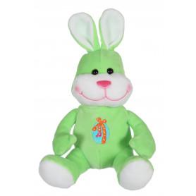 Les copains de Pâques musicaux 15 cm - lapin vert
