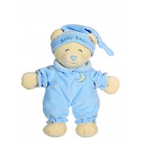 Ours Baby bear douceur bleu ciel - 24 cm