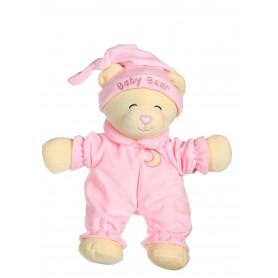 Ours Baby bear douceur rose pâle - 24 cm
