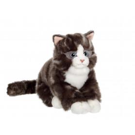 Chat Mimiz gris - 28 cm