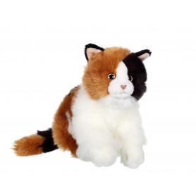 Chat Mimiz tricolore - 28 cm