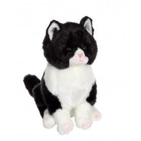 Chat Gros matou noir - 33 cm