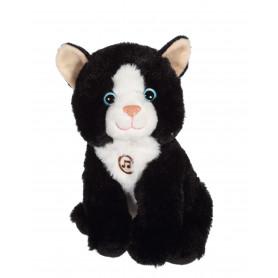 Chat Mimi cats sonore noir - 18 cm
