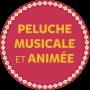 Cheval Kisco musical et lumineux - 35 cm