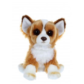 Chien floppy assis Chihuahua - 25 cm