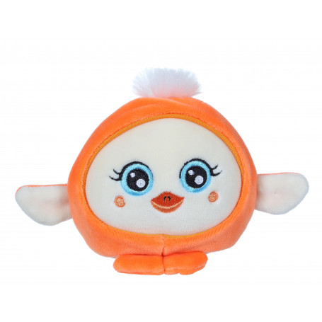 Squishimals Zazzy canard orange - 10 cm