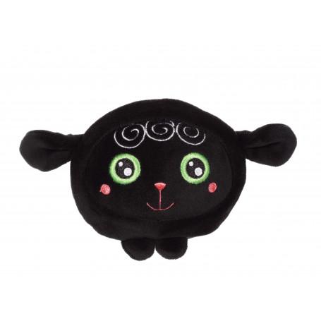 Squishimals Lenny agneau noir - 10 cm