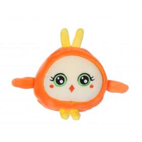 Squishimals Jessy poussin orange - 10 cm