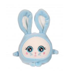 Squishimals Binky lapin bleu - 10 cm