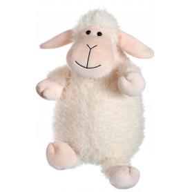 Mouton Funny Sheep Blanc Tête Rose - 30 cm