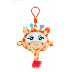 """Squishimals porte-clés girafe """"Gigi"""" - 8 cm"""