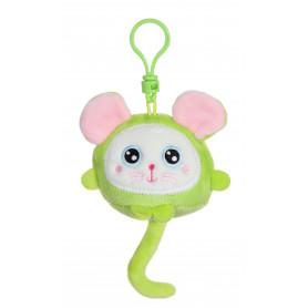 """Squishimals porte-clés souris """"Squeeky"""" - 8 cm"""