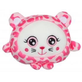 """Squishimals guépard """"Pinky"""" - 20 cm"""