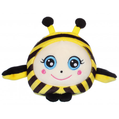 """Squishimals abeille """"Buzzy"""" - 10 cm"""