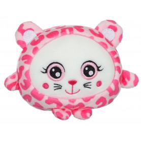 """Squishimals guépard """"Pinky"""" - 10 cm"""