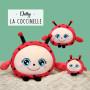 "Squishimals coccinelle ""Dotty"" - 10 cm"