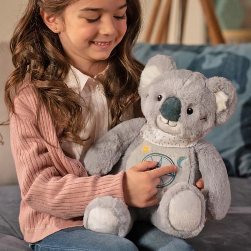 Kwaly le koala en peluche conteur d'histoires