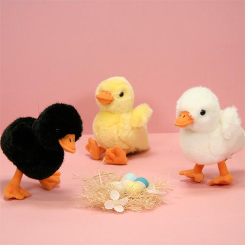 Mouton, poule, lapin en peluche toute douce !