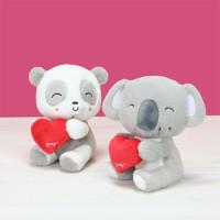 Peluches saint valentin