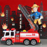 Sam le pompier en peluche